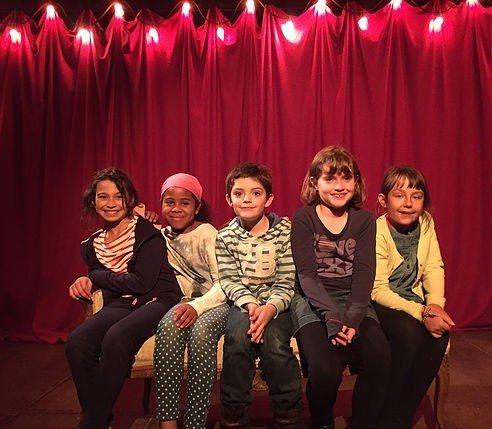 Travaux d'ateliers théâtre Nantes