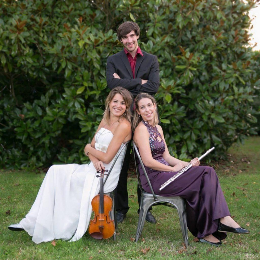 Trio Meigma - Flûte violon et orgue Saint-Gildas-de-Rhuys