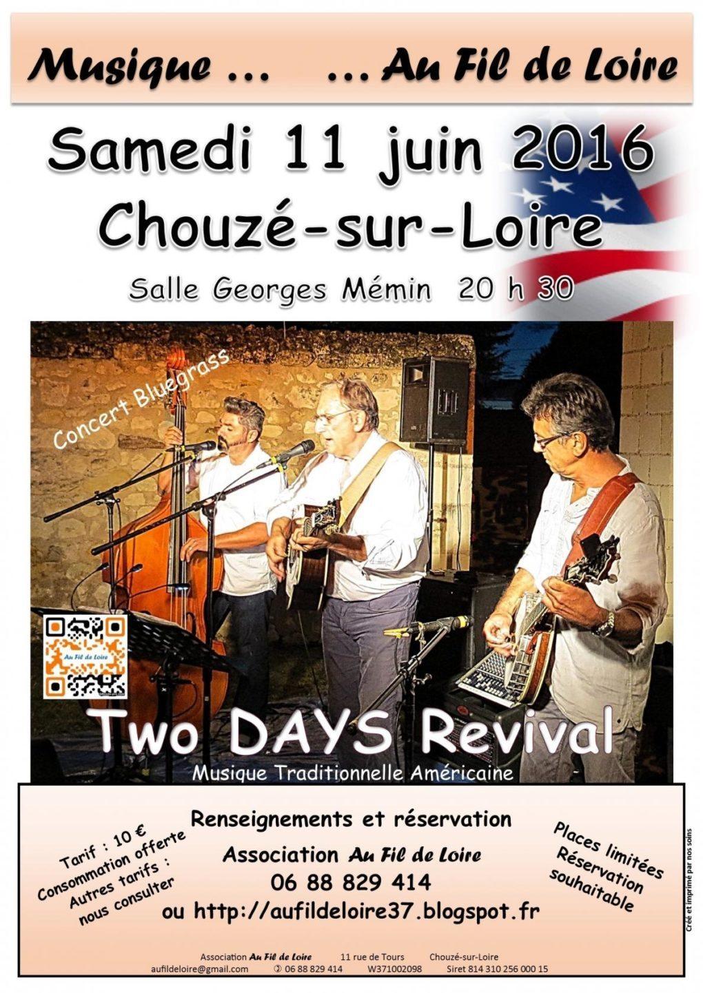 Two DAYS Revival Chouzé-sur-Loire