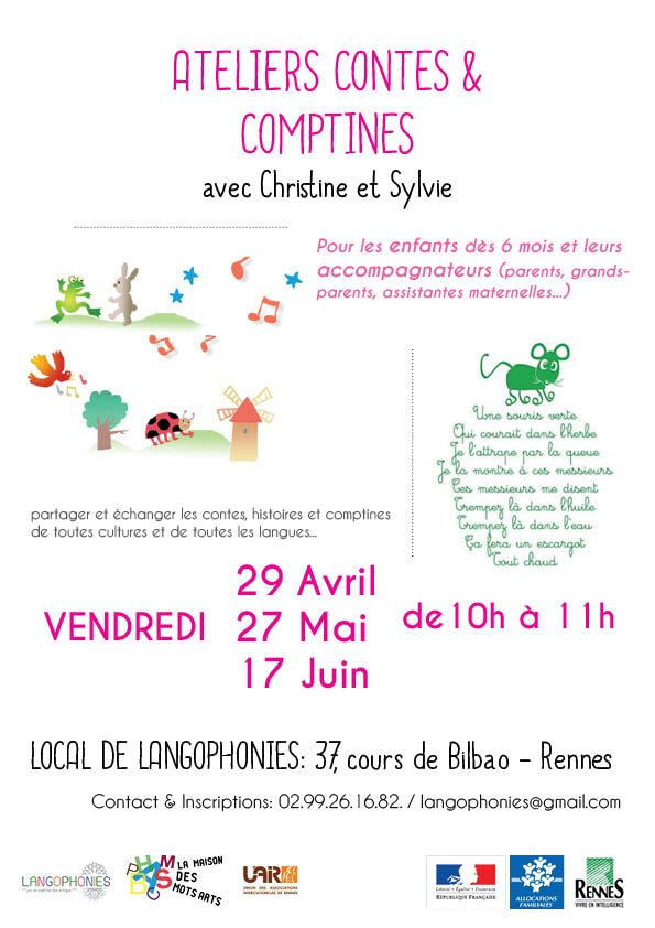 affiche contes comptines