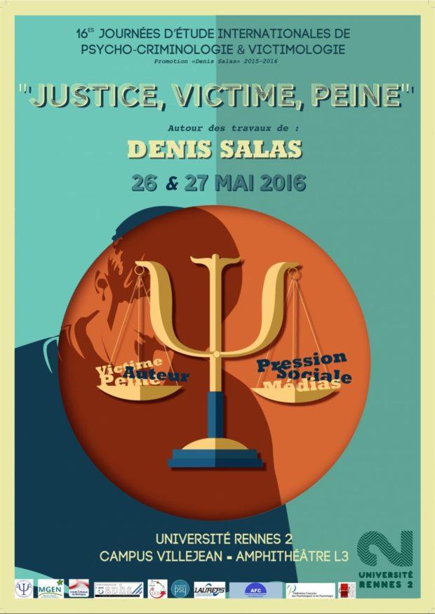 Victime, justice et peine