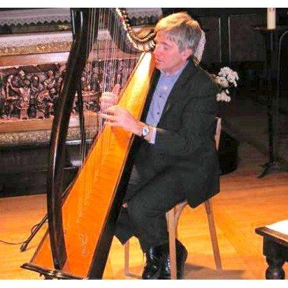 Yvon Le Quellec harpe celtique et chant Goulven