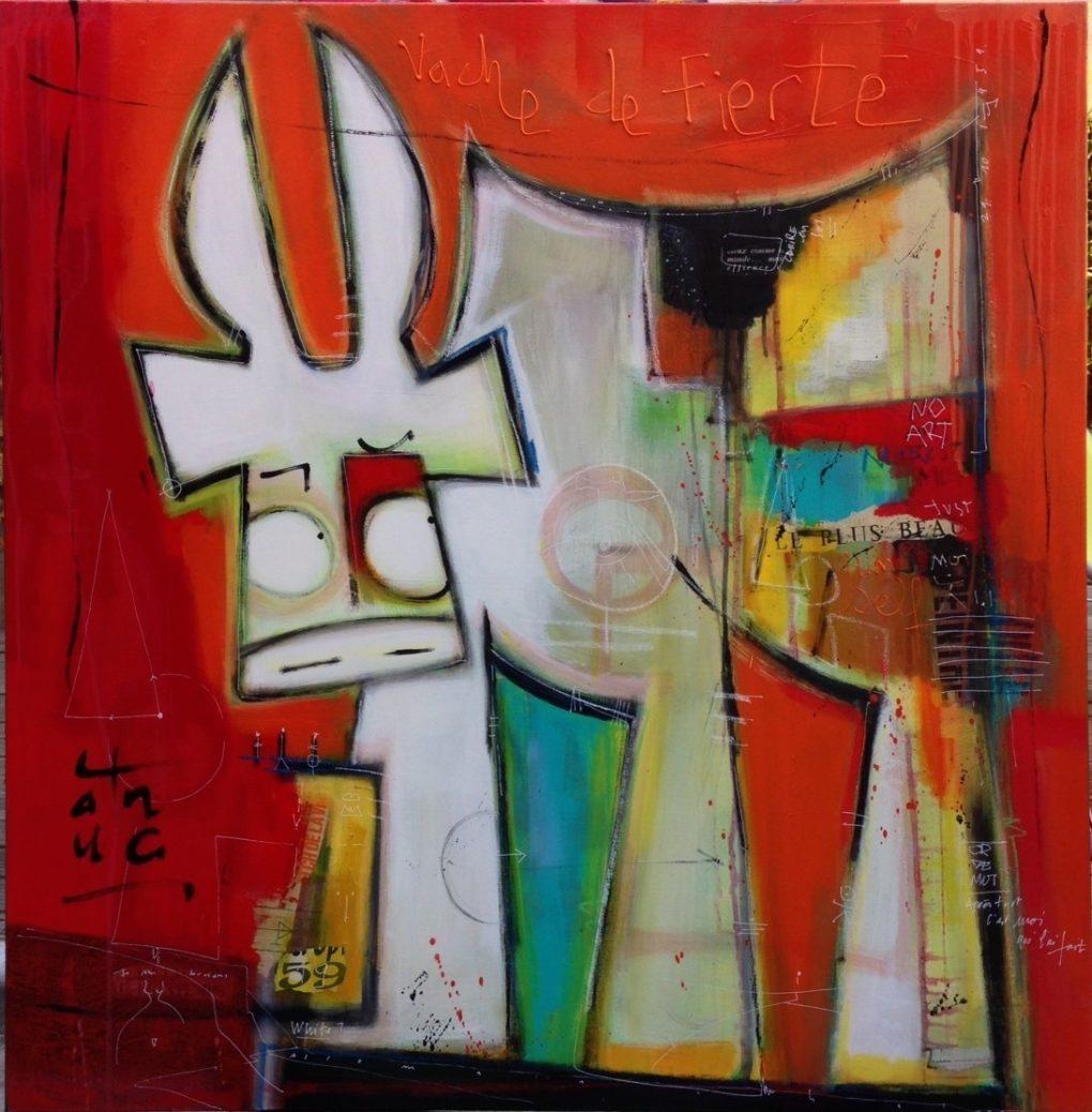VanLuc démonstration peinture Coutances