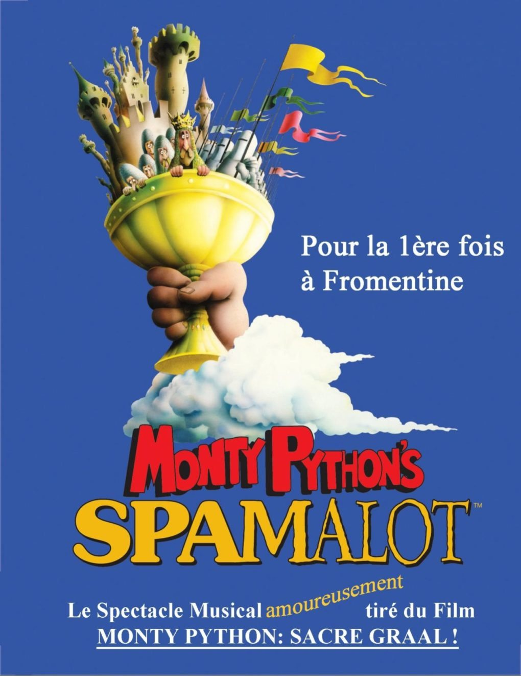 A tue-tête Spamalot comédies musicales/chorégraphie La Barre-de-Monts