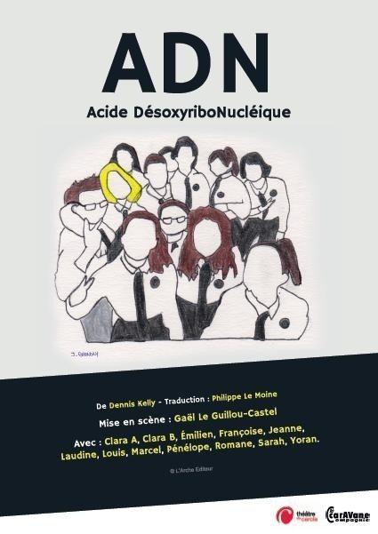 ADN Acide DésoxyriboNucléique Rennes