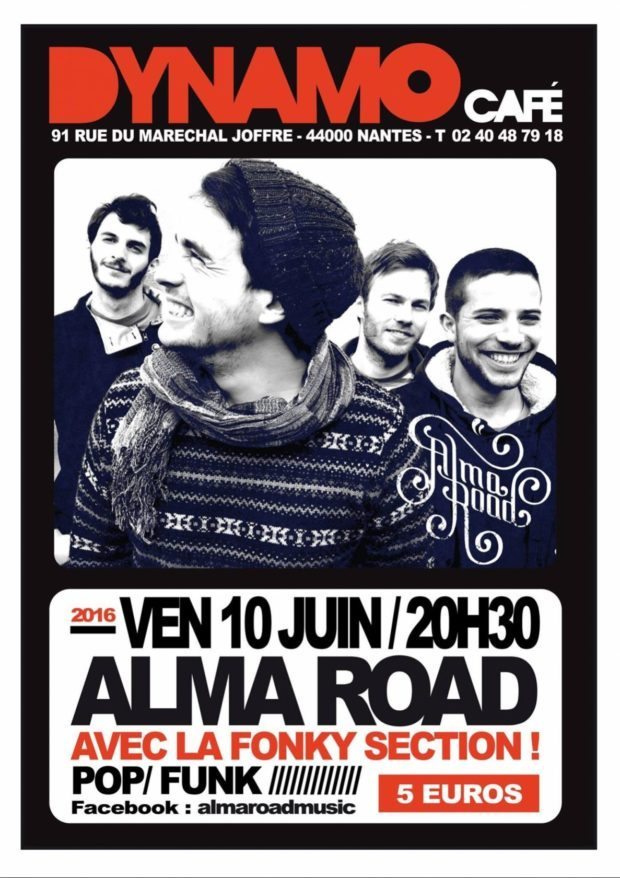 Alma road avec Fonky section Nantes
