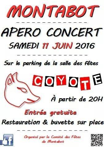 Apéro concert Montabot