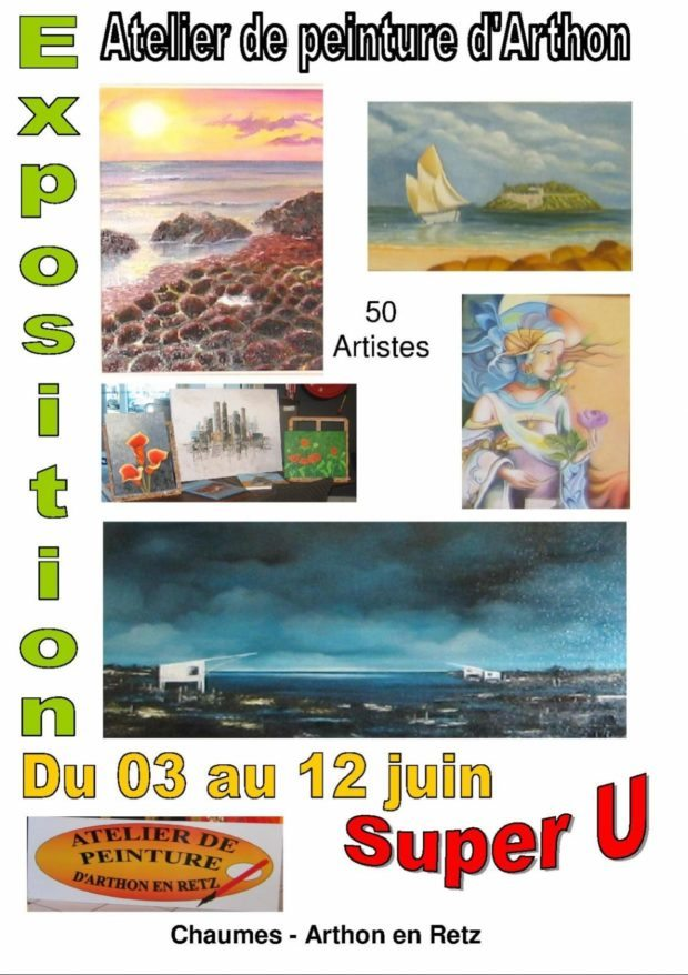 Atelier peinture d'Arthon Chaumes-en-Retz