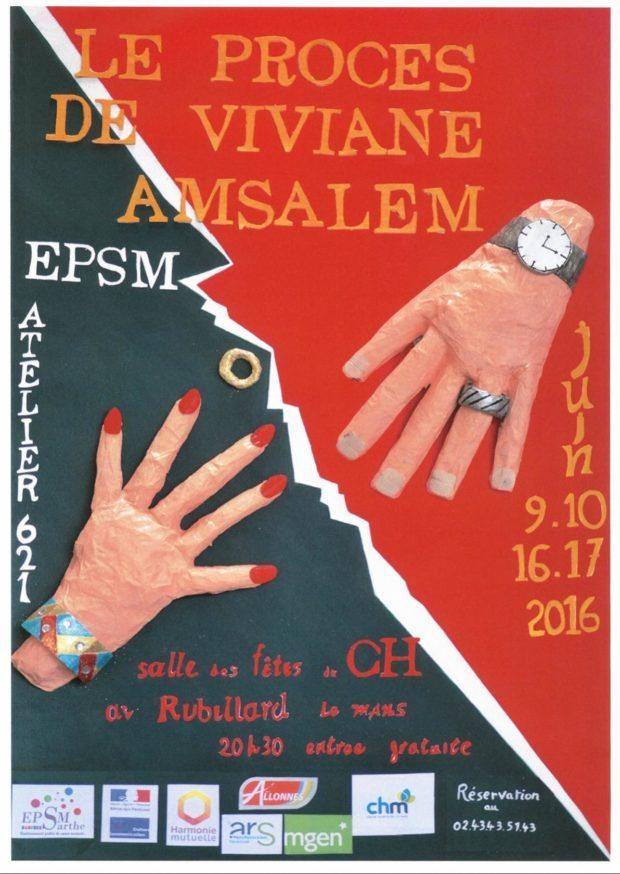 Atelier-théâtre 621 procès Viviane Amsalem Le Mans