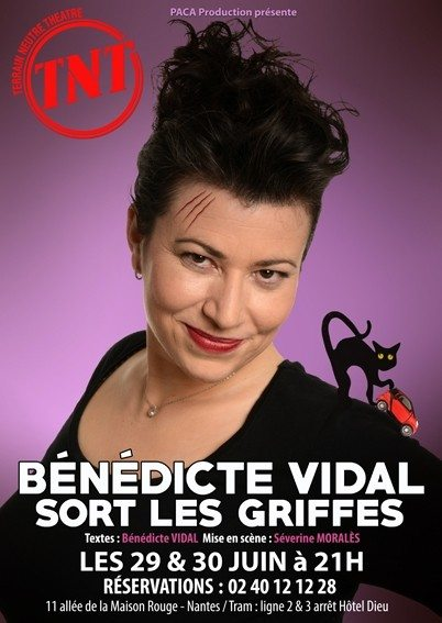 Bénédicte sort griffes Nantes