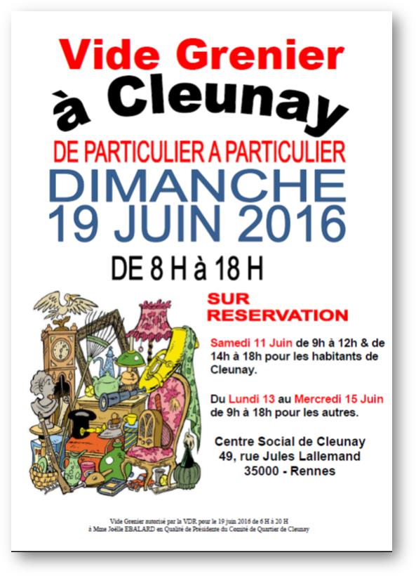 braderie cleunay rennes 2016