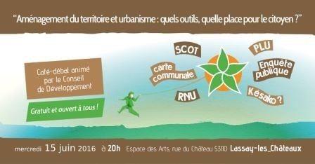 Café citoyen aménagement et urbanisme Lassay-les-Châteaux