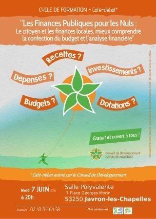 Café-débat pour mieux comprendre finances locales Javron-les-Chapelles