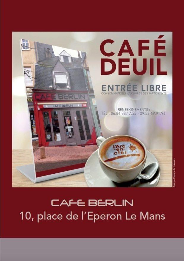Café deuil Le Mans