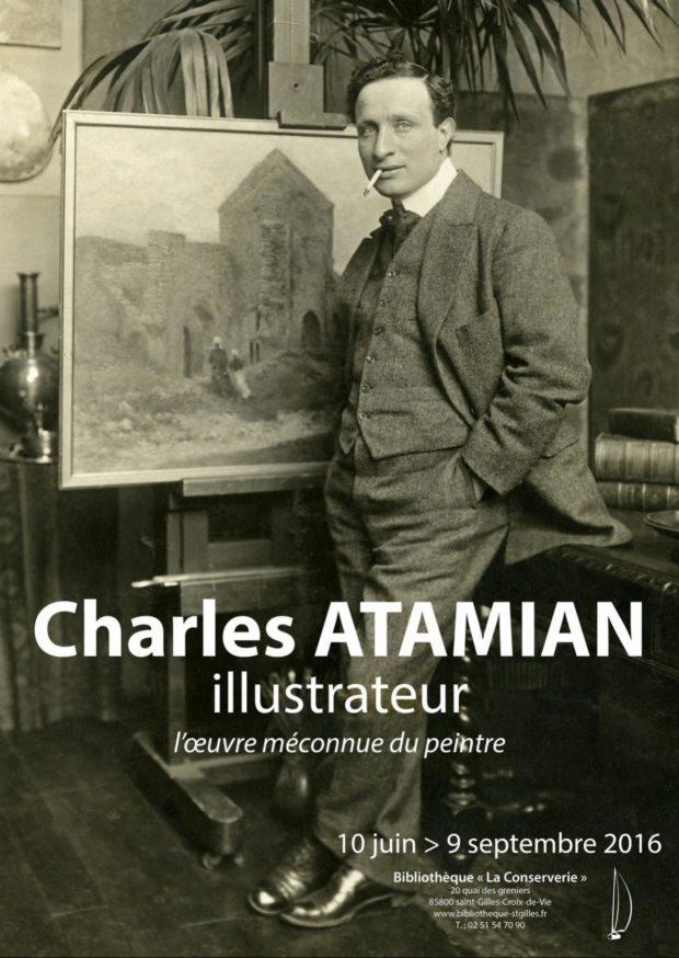 Charles Atamian illustrateur l'œuvre méconnue du peintre Saint-Gilles-Croix-de-Vie