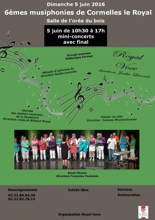 Chorale Atout chœur Thomas Fersen à l'Hymne à joie Cormelles-le-Royal