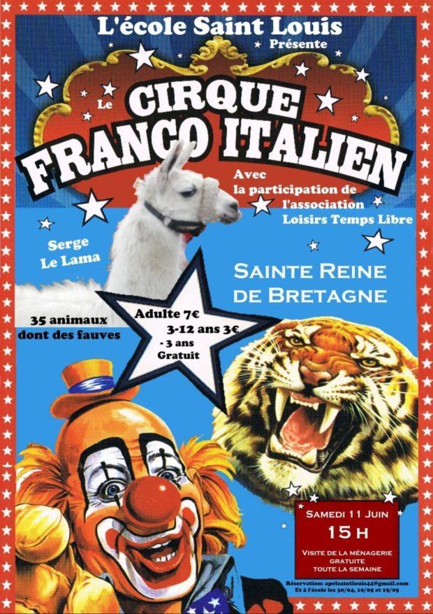 Cirque Franco-Italien Sainte-Reine-de-Bretagne