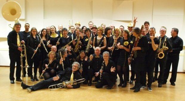 Concert à Port-en-Bessin avec l'Aventure Musicale Port-en-Bessin-Huppain