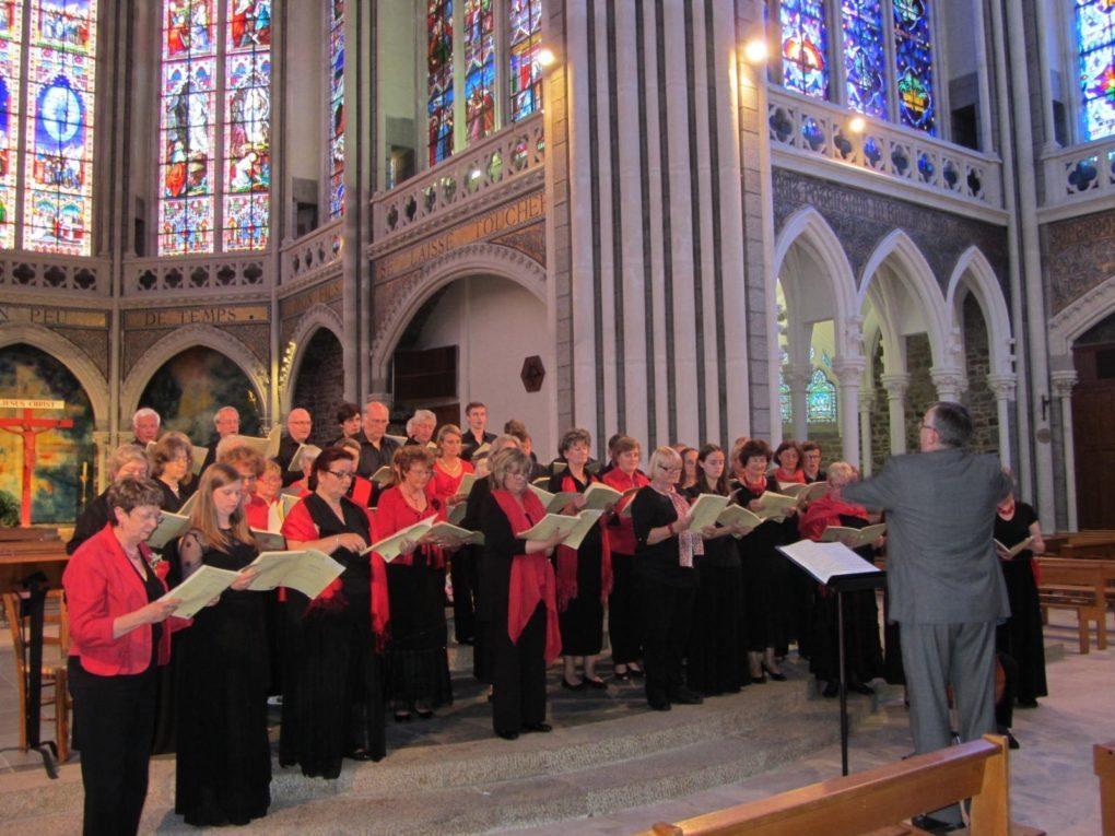 Concert du chœur de l'académie du festival Jean Langlais Rennes