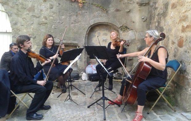 Concert du QuatuorVindinum Le Mans