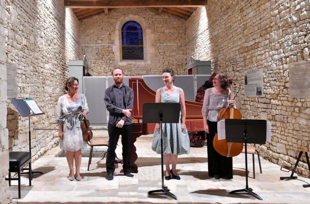 Concert de musique baroque - récréations françaises Angles