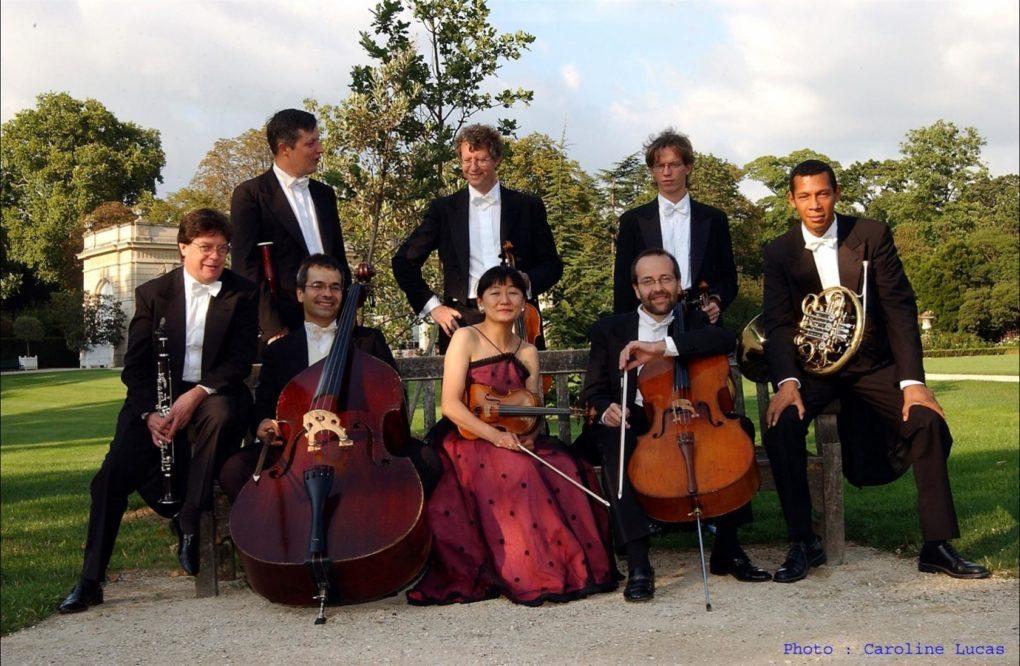 Concert Octuor de France festival des Pierres Debout Pont-Aven