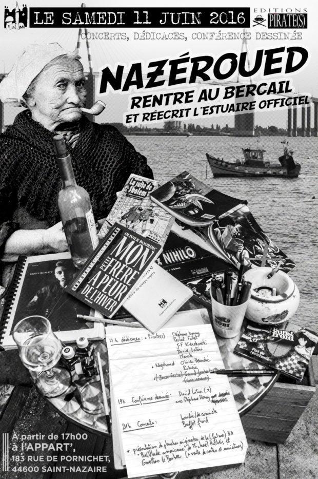Concerts dédicaces et conférence dessinée Saint-Nazaire