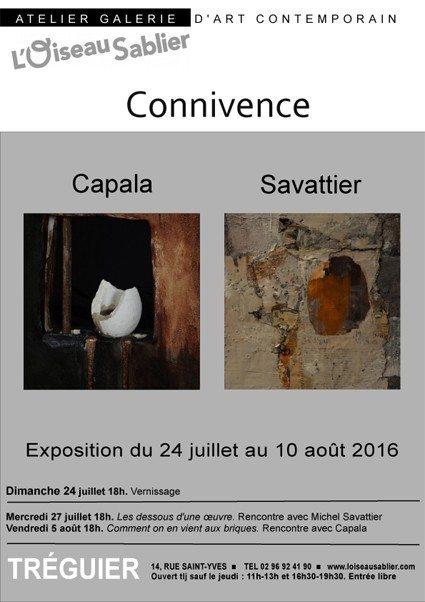 Connivence entre les artistes Capala et Savattier Tréguier