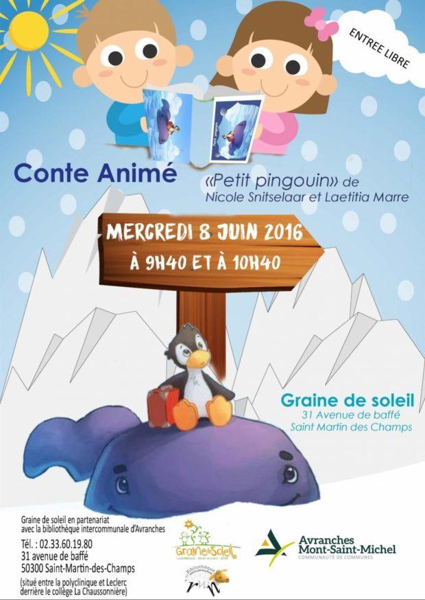 Conte animé Petit pingouin Saint-Martin-des-Champs