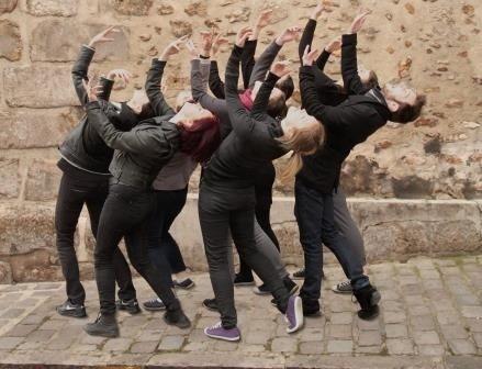 Danse contemporaine au château avec la Compagnie Meyer Gratot