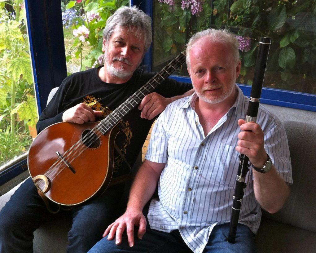 Davy Maguire Jamie McMenemy musique et chants écossais irlandais Trégastel