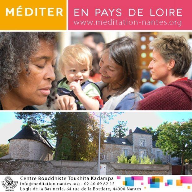 Conférence Enseignements et méditations bouddhistes Kadampa Nantes