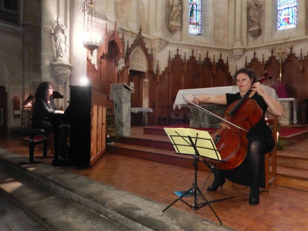 Ensemble Arpeggione (piano/violoncelle) Talmont-Saint-Hilaire