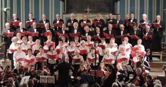 Ensemble choral du Léon concerts classiques d'été Lannilis