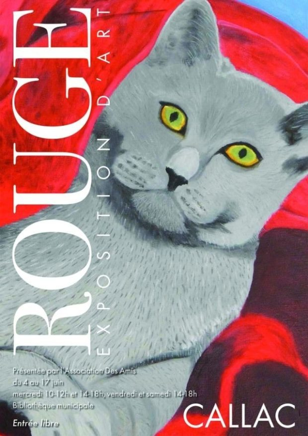 Exposition peintures Rouge Callac