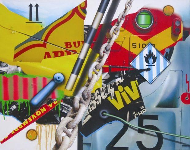 Exposition Peter Klasen Saint-Malo