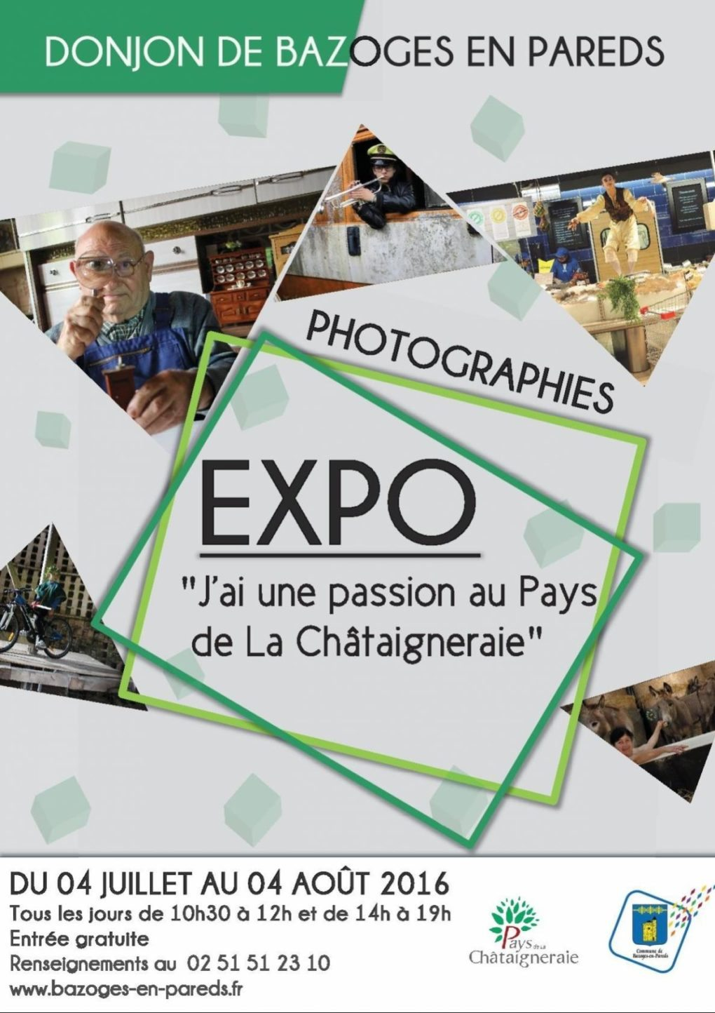 Exposition photographies Bazoges-en-Pareds