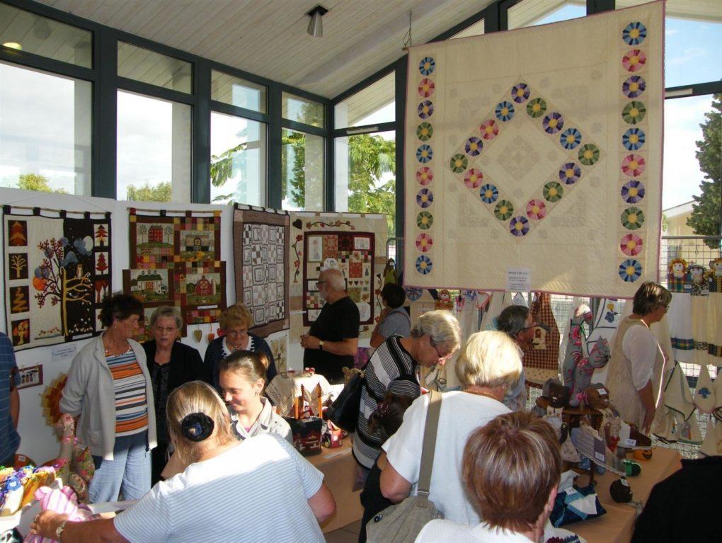 Exposition-vente de patchwork Angles