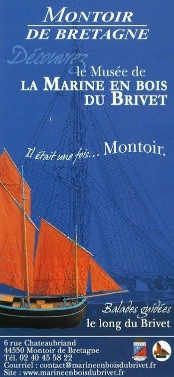 Exposition vie maritime autour Rozé Montoir-de-Bretagne