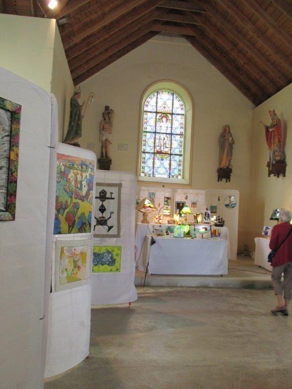 Expositions d'arts peinture sculpture vitrail Locmaria-Plouzané
