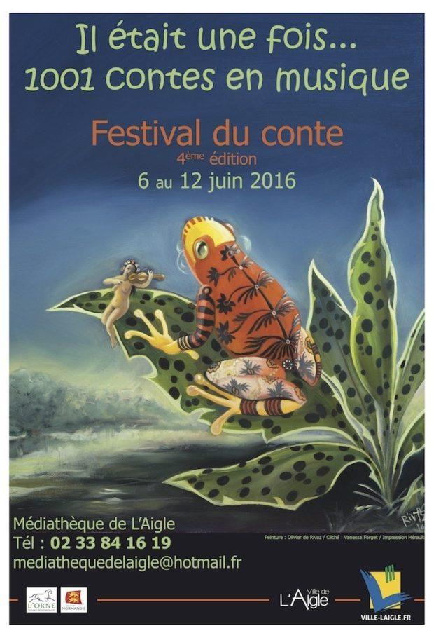 Festival du conte Il était une fois L'Aigle