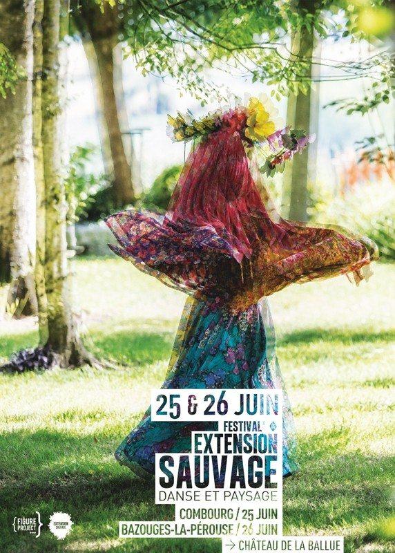 Festival Extension sauvage danse et paysage Bazouges-la-Pérouse
