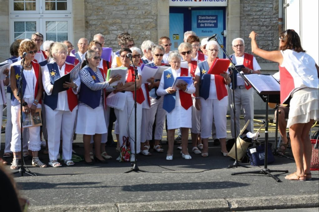 Festival La semaine acadienne Concert chorale du festival Courseulles-sur-Mer