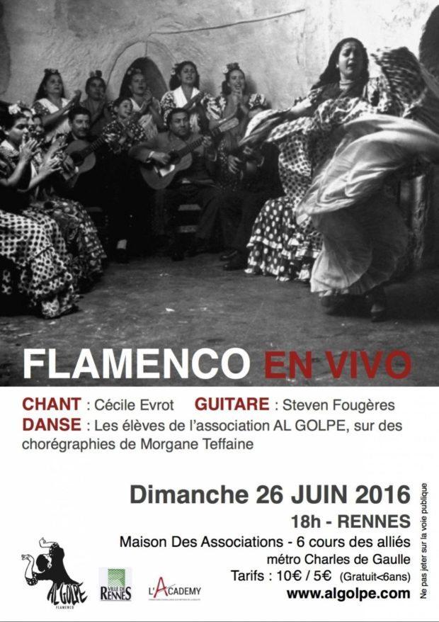 Flamenco en vivo Rennes