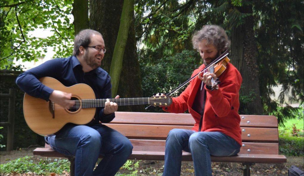 Günther Schmidt et Pierre Le Lann - musique irlandaise Trégastel