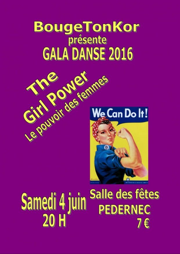 Ga danse The Girl Power Pédernec