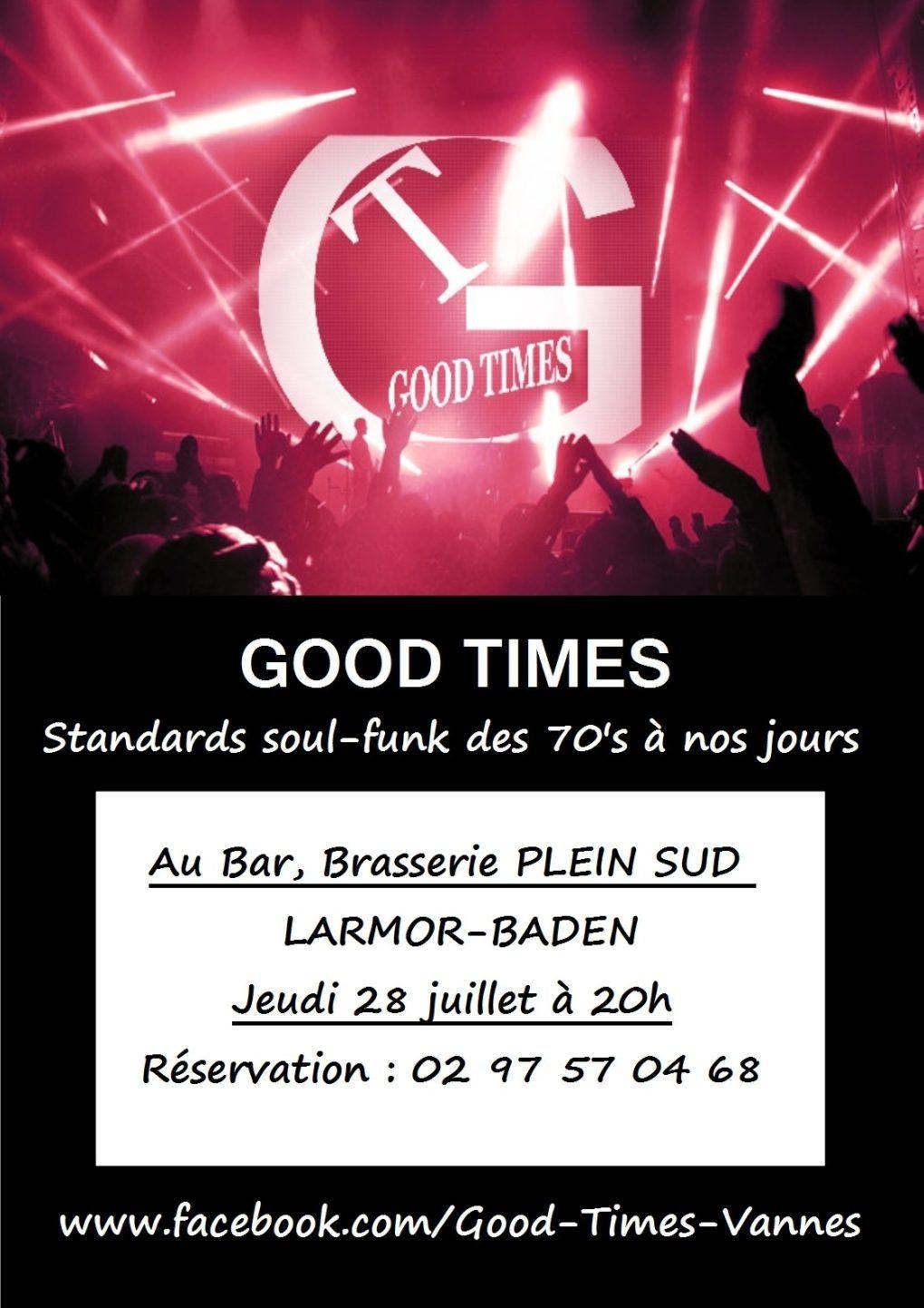 Good times (funk soul rock) Larmor-Baden