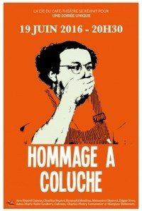 Hommage à Coluche Nantes