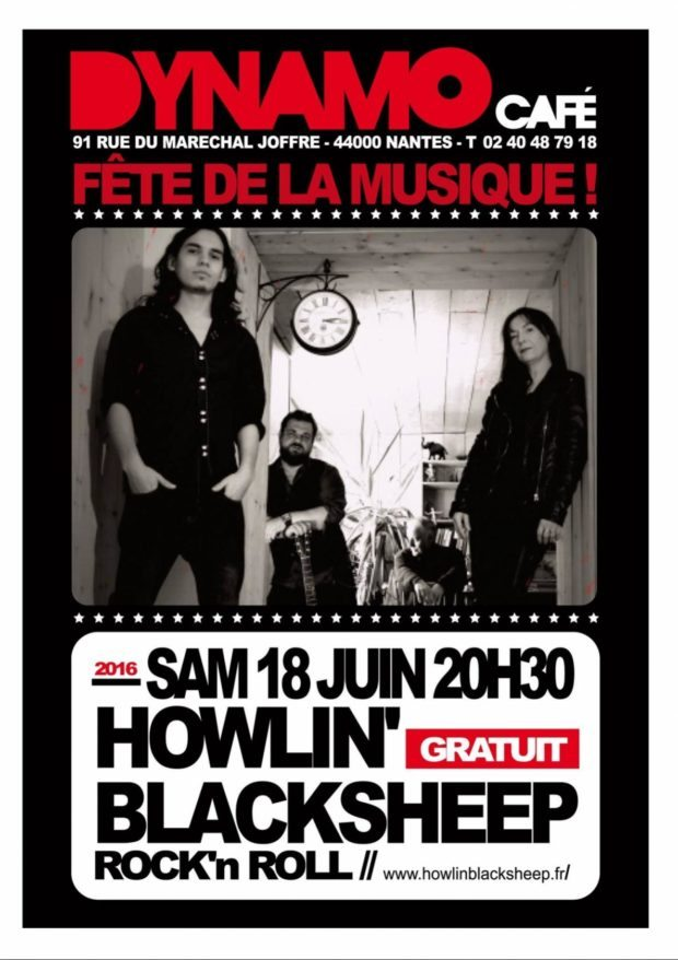 Howlin'Blacksheep Nantes