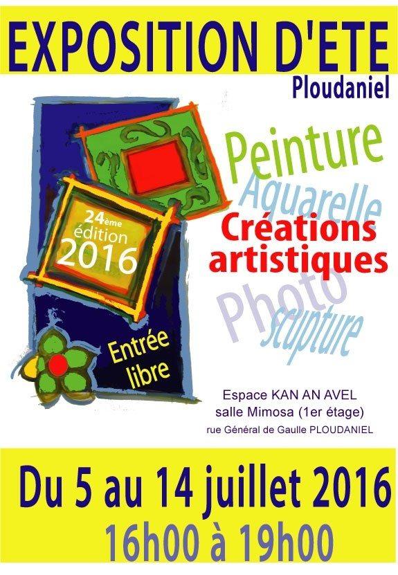 Exposition Inscription exposition d'été des artistes locaux Ploudaniel